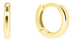 Cercuri delicate din aur galben pe071_AU_Y