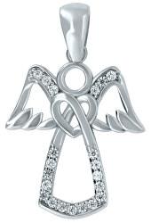 Něžný přívěsek z bílého zlata Anděl PENT113_AU_W