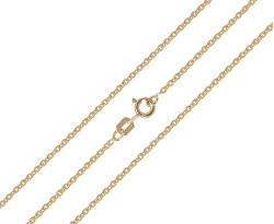 Pekný zlatý retiazka 50 cm 271 115 00369