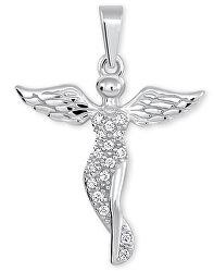 Prívesok z bieleho zlata Anjelik 249 001 00545 07