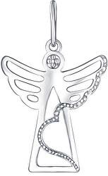 Přívěsek z bílého zlata Andělíček PA6162