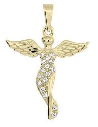 Přívěsek ze žlutého zlata Andělíček 249 001 00545