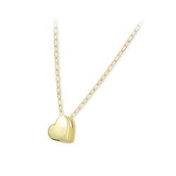 Pôvabný náhrdelník zo zlata 273 001 00133 00 (retiazka, prívesok)
