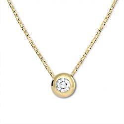 Pôvabný náhrdelník zo žltého zlata 276 001 00021 00