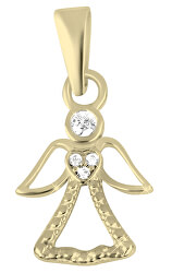 Pôvabný zlatý prívesok Anjel 249 001 00559