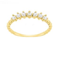 Csillogó sárga arany gyűrű  SR031YAU