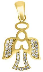 Úchvatný přívěsek ze žlutého zlata Andělíček PENT109_AU_Y