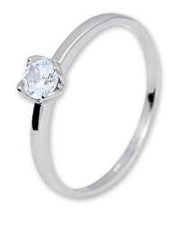 Fehérarany eljegyzési gyűrű cirkónium kővel 226 001 01077 07