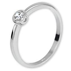 Fehérarany eljegyzési gyűrű cirkónium kővel 226 001 01079 07
