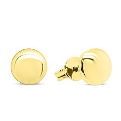Zlaté minimalistické náušnice EA103YAU