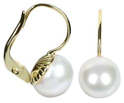 Zlaté náušnice s perlou 745 235 001 00071 0000000