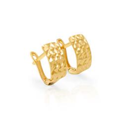 Zlaté ozdobné náušnice AUP0007-G-0130