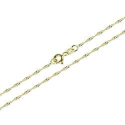 Zlatý dámsky náramok Lambáda 18 cm 261 115 00273