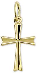 Zlatý přívěsek Křížek 242 001 00013 10