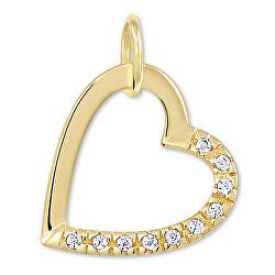Gold Herz-Anhänger mit Kristallen 249 001 00 494