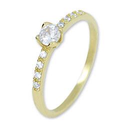 Arany gyűrű kristállyal 229 001 00858