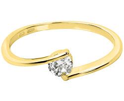Zlatý zásnubní prsten 226 001 00995 00