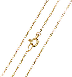 Elegantní zlatý řetízek Anker 42 cm 271 115 00272