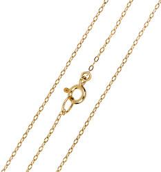 Elegantná zlatá retiazka Anker 60 cm 271 115 00297