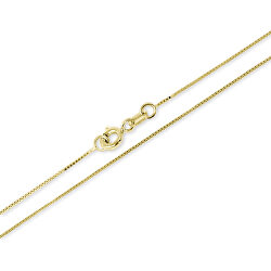 Luxusné zlatý retiazka 50 cm 271 115 00132