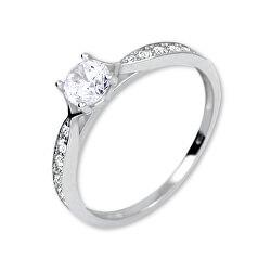 Gyönyörű gyűrű kristályokkal 229 001 00753 07
