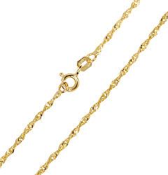 Zlatý dámský řetízek Lambáda 42 cm 271 115 00175