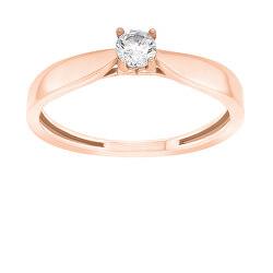 Bronzový zásnubní prsten GR114R