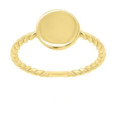 Minimalistický pozlacený prsten GR106Y
