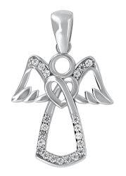Módní stříbrný přívěsek anděl PENT113