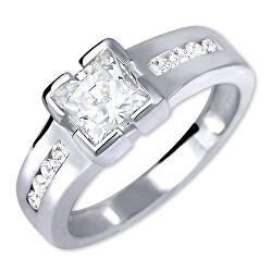 Strieborný zásnubný prsteň 426 001 00416 04