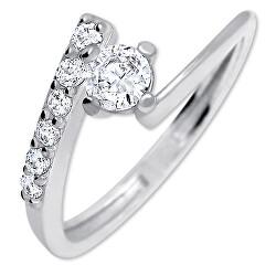 Pekný zásnubný prsteň 426 001 00435 04