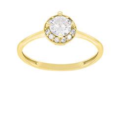 Aranyozott eljegyzési gyűrű GR003Y