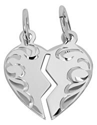 Partnerský šperk - Stříbrný přívěsek pro páry 441 001 01480 04
