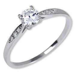 Stříbrný zásnubní prsten 426 001 00537 04
