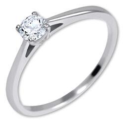 Stříbrný zásnubní prsten 426 001 00539 04