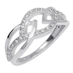 Lenyűgöző ezüst gyűrű 426 001 00532 04
