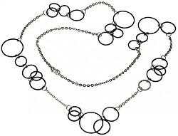 Černý titanový náhrdelník 0853-03