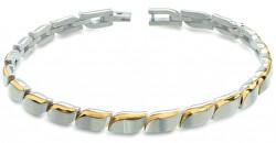 Moderní pozlacený titanový náramek 03032-02