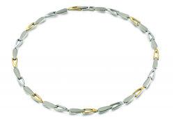 Moderní titanový náhrdelník 08039-02