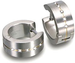 Titan Ohrringe mit Diamanten 0503-11