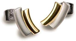 Pozlacené titanové náušnice 0561-02