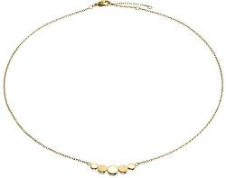 Pozlacený titanový náhrdelník 08031-02