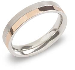 Pozlacený titanový snubní prsten 0129-07