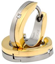Titánové elegantné náušnice s briliantmi 0563-04