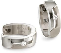 Cercei de titan cu diamant 05045-03