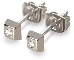 Titanové náušnice s diamantem 0538-01