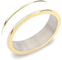 Titánovo-keramický prsteň 0132-03