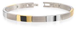 Titanový bicolor náramek 03036-02