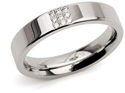 Titanový prsten s diamanty 0121-02