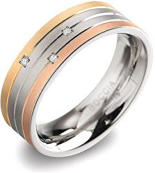 Titanový prsten s brilianty 0135-02